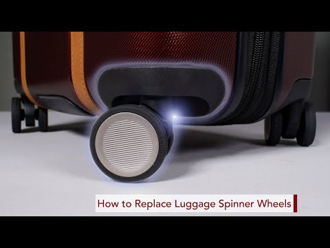 How To Replace Your Ricardo Luggage Spinner Wheels