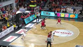 Playing Time Philipp Herkenhoff #14 | Round 1 - Game 2 - Brose Bamberg vs. Rasta Vechta - 2018-19