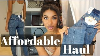 FALL HAUL  |  Levi's Altered Skinny 501, Chanel, Asos + More!  |  KWSHOPS