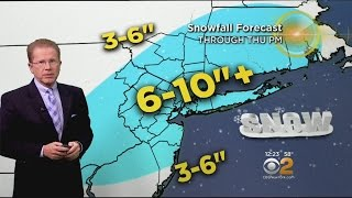 2-8 Afternoon Winter Storm Weather Forecast