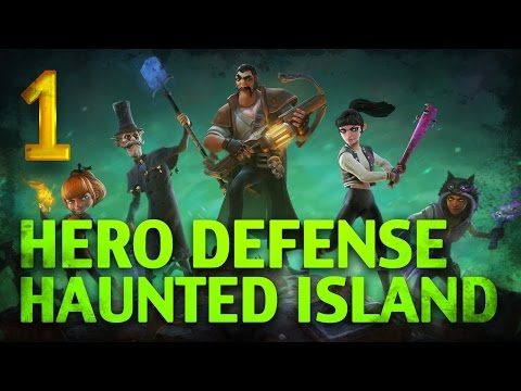 Hero Defense - Haunted Island [Бей нежить!] #1