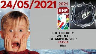 Новости ЧМ и НХЛ Словакия Россия Чемпионат мира по хоккею 2021 в Риге