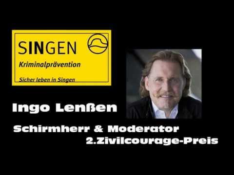 Singen  2.Tag der Zivilcourage 25. Oktober 2013 Scheffelhalle