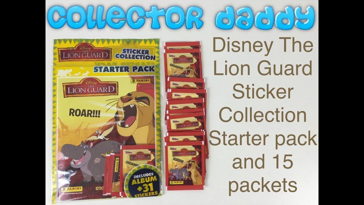The Lion Guard Sticker Starter Pack