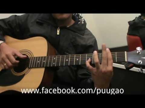 """สอนเล่นเพลง """"อิ่มอุ่น"""" แบบ Fingerstyle By Puugao [ เกากีตาร์ ง่ายๆ By Puugao EP.4 ]"""