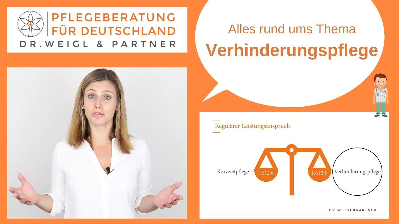 Verhinderungspflege Voraussetzungen Leistungen Dr Weigl Partner