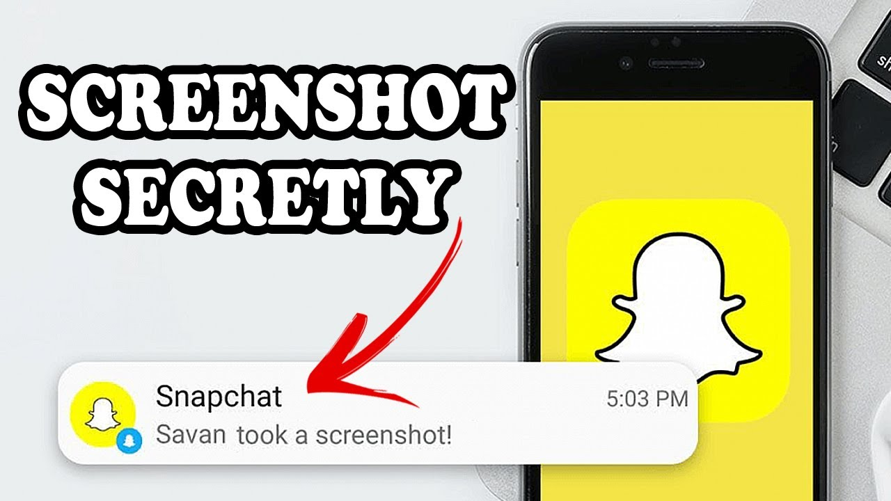 How to Screenshot on Snapchat Without Them Knowing iPhone   Snaps, Stories, Chats 2021
