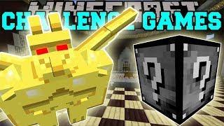 PopularMMOs Pat and Jen Minecraft DEVIL DEMON CHALLENGE GAMES Lucky Block Mod Modded Mini Game