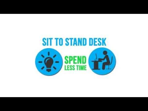 Easy Standing Desk - No More Pain Ergonomics - Australia
