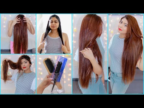 NEW Hair Care Routine And Hair Care Hacks for LONG, THICK & SHINY Hair | Rinkal Soni