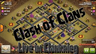 Clash of Clans | LIVE IM CK | Viel Pech im Angriff
