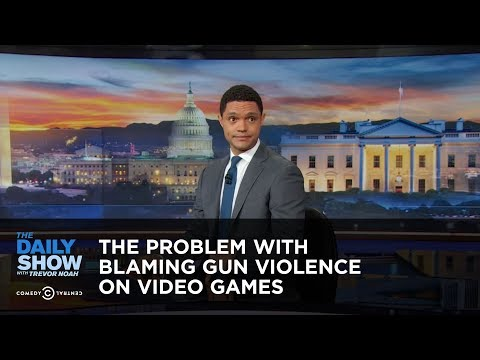 Between the Scenes – The Problem With Blaming Gun Violence on Video Games: The Daily Show