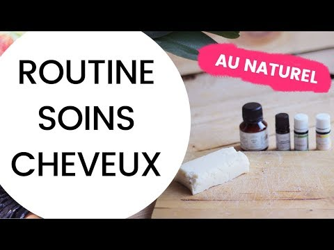 ROUTINE SOINS CHEVEUX au naturel 😍 | Milena & Co