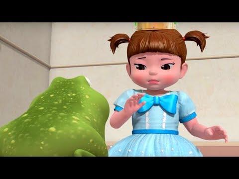 Развивающие мультики для детей - Консуни – Тренировка для принцессы –  Серия 14