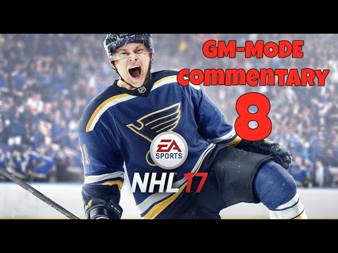 NHL 17 GM Mode Commentary w/ the Carolina Hurricanes EP 8 Season 2 Trade Deadline