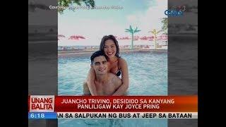 UB: Juancho Trivino, desidido sa kanyang panliligaw kay Joyce Pring