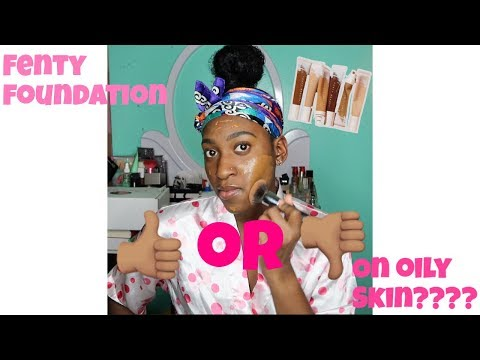 FENTY BEAUTY HYDRATING LONG WEAR FOUNDATION ON OILY SKIN? thumbnail