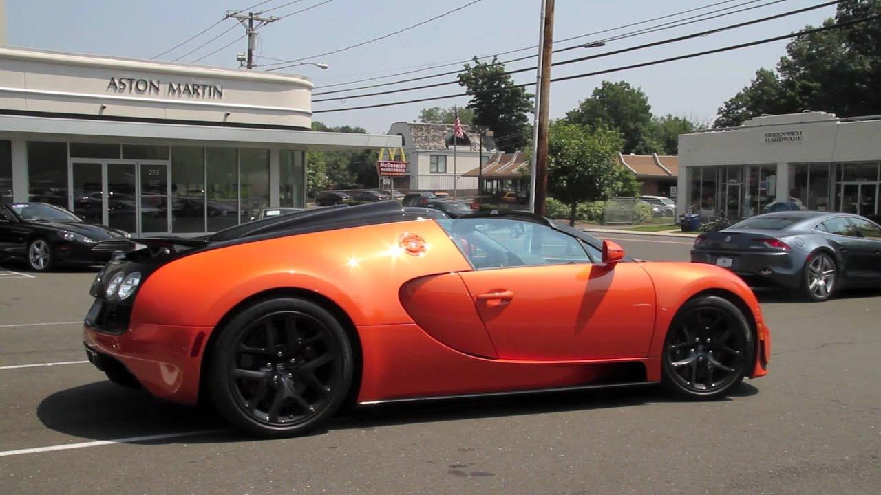 orange bugatti veyron grand sport vitesse youtube. Black Bedroom Furniture Sets. Home Design Ideas