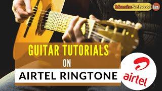 How To Play Airtel Tune On Guitar | Airtel Guitar Tabs