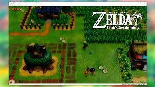 Yuzu - Legend of Zelda: Link's Awakening Gameplay (Yuzu Nintendo Switch PC Emulator)