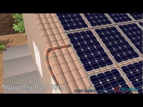 Nguyên lý hoạt động máy phát điện năng lượng mặt trời.wmv