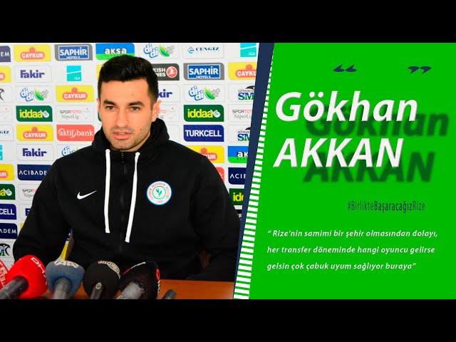 Gökhan Akkan, Galatasaray ve Sivasspor deplasmanları öncesi basın toplantısı düzenledi