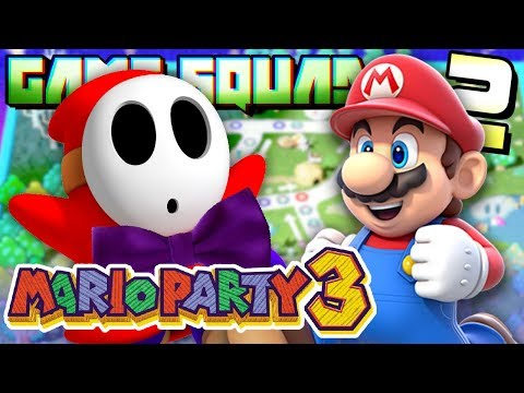 GAME SQUAD | Mario Party 3 - Deep Blooper Sea: Part 2 (GAME GUY REVEALED!)