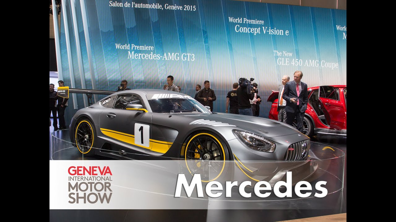 Mercedes G 500 4x4, AMG GT3, Studie V-ISION, smart fortwo BRABUS tailor made - Genf 2015