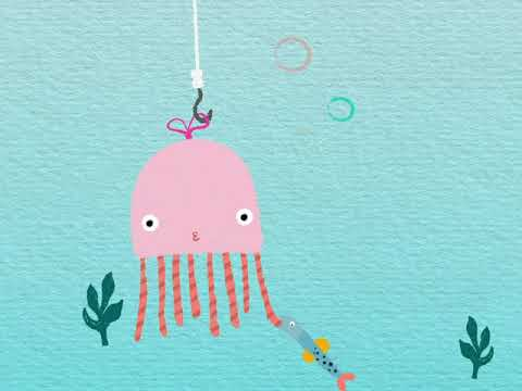 Jelly n Fish Animation made with After Effects