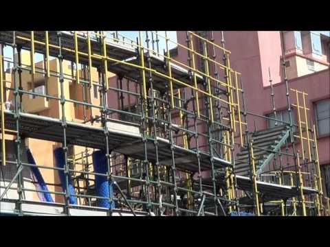 CityOfSydney.Tv Development The Dr Chau Chak Wing Building 30032013 Scaffold