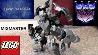 How to build Lego Mixmaster with hero factory and bionicle
