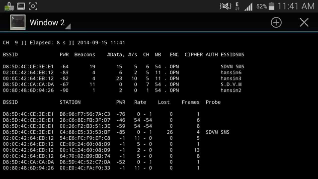 Android Phone Wifi Monitor Mode - Hijacker v1 3 Wi-Fi