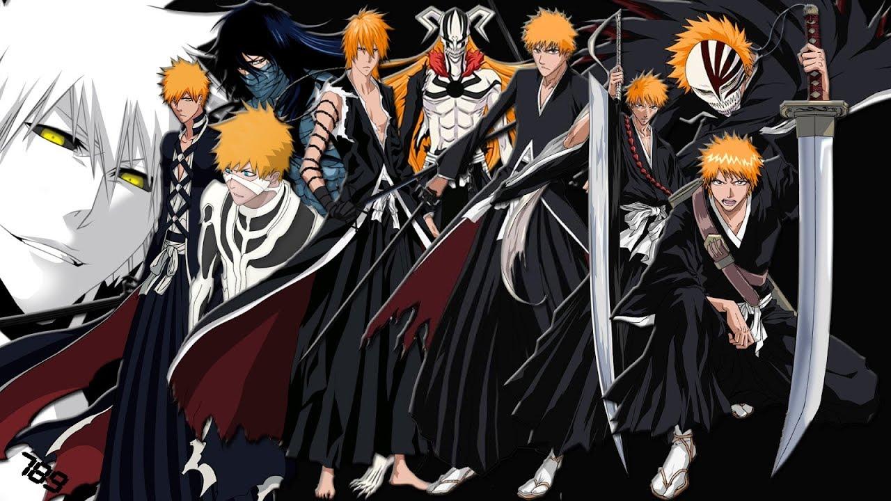 Top 15 Ichigo Strongest forms - YouTube