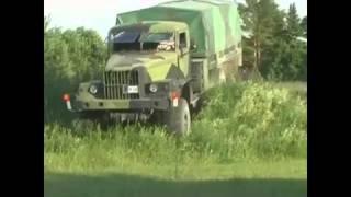 amazing russian ukranian monster truck kraz 255 b 6x6