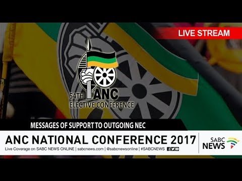 Messages of support to the outgoing ANC NEC, 16 December 2017