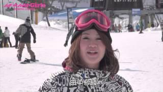 はじめまして 田中紗綾です!!! 私はもっとたくさんの方にスキー,スノー...