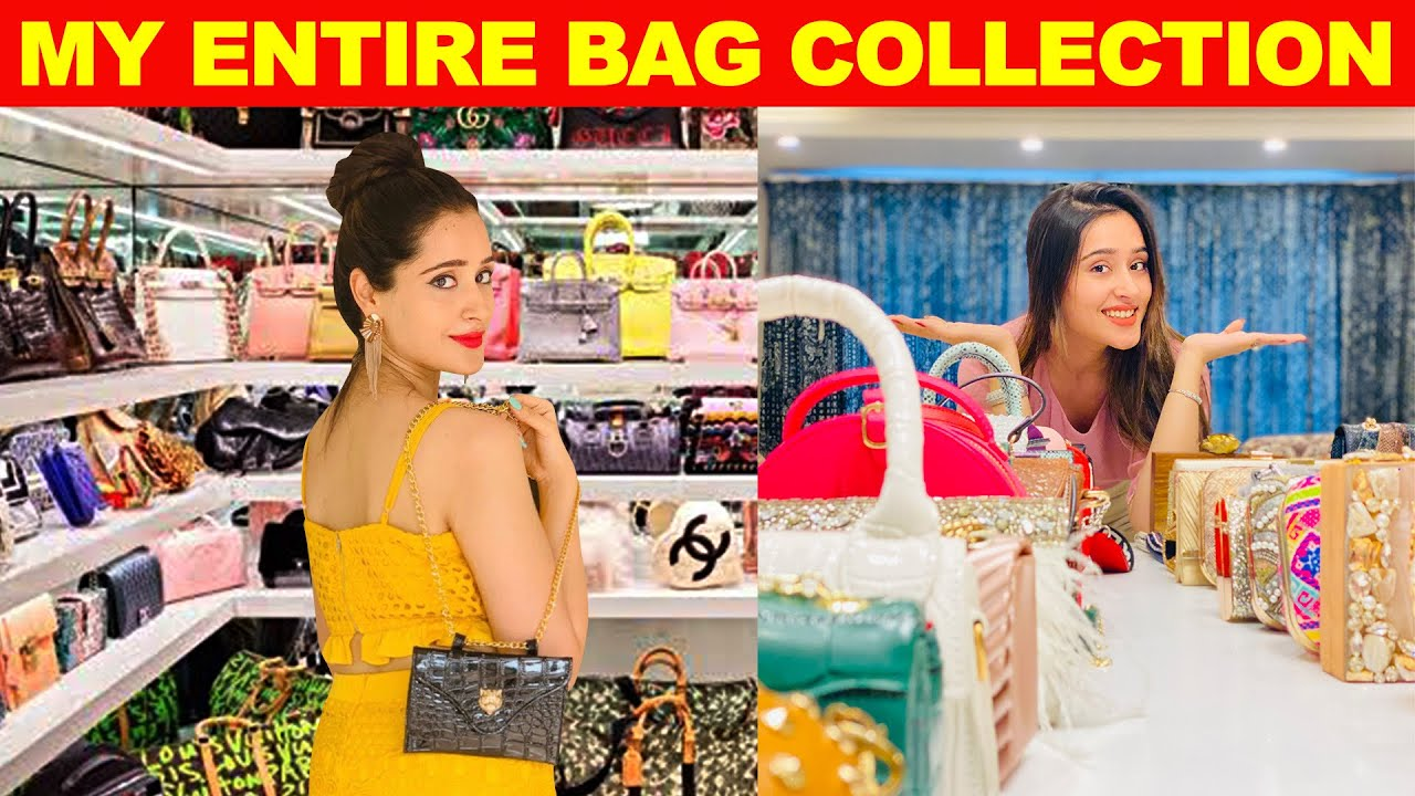 My ENTIRE ROOM of Huge BAG COLLECTION | Never show this to your Husband..