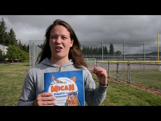 "Local Teen Writes New Book: ""Micah The Mighty Marathoner"""