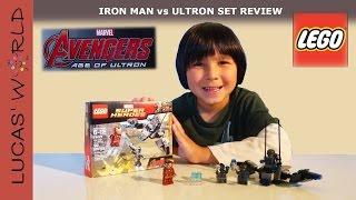 Lego Avengers Iron Man Vs Ultron Play Set Review