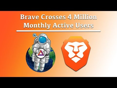 Brave Crosses the 4 Million Monthly Active User (MAU) Mark Mp3