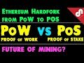 Proof of Work (PoW)  vs Proof of Stake (PoS)? Explained ! What will be Future of Mining ? [Hindi]