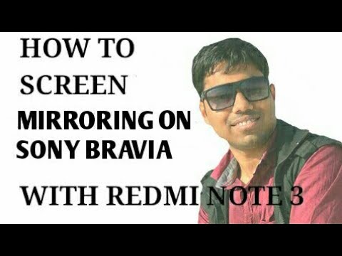 HOW TO USE SCREEN MIRRORING IN REDMI NOTE 3/4  (2017)