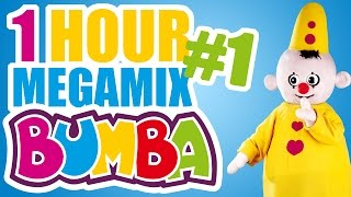 bumba no 1 1 hour megamix full episodes kids love bumba the little clown