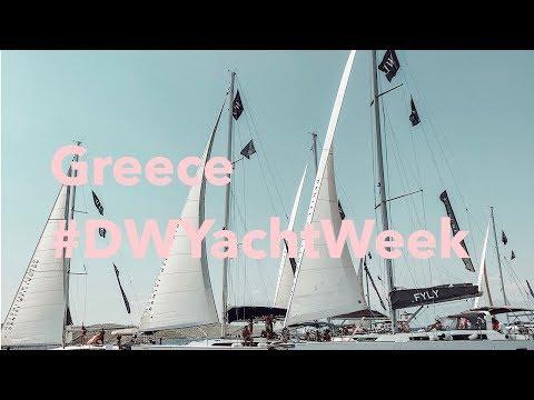 #DWYachtWeek Greece Vlog ギリシャブログ
