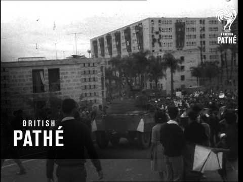 Riots On 7th Anniversary Of Algerian War (1961)