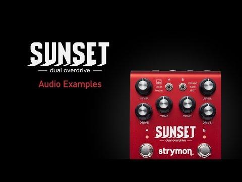 Sunset - Dual Overdrive Pedal - Strymon