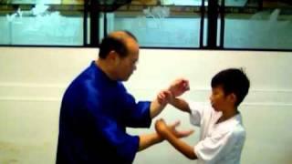 Wing Chun Chan Chiu -Chi Sao Fook Chum Tseu-Tan Chenng Bong