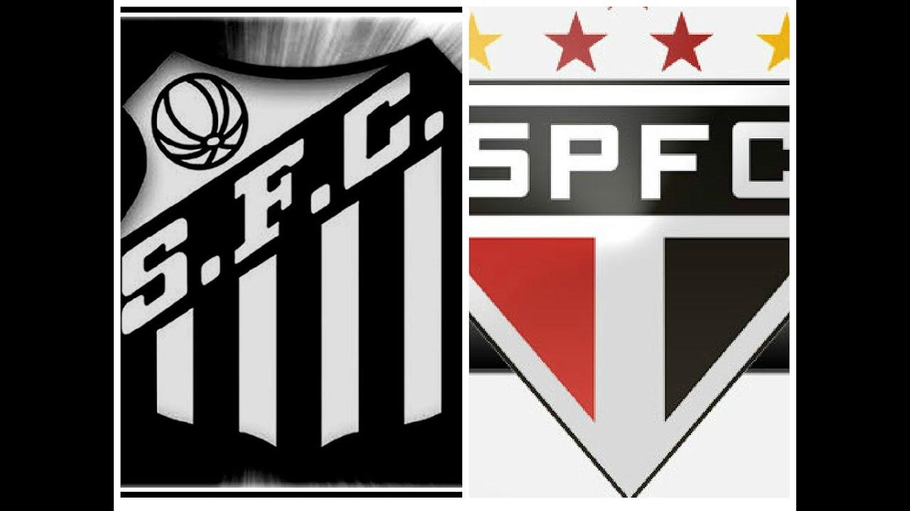Resultado de imagem para Santos x São Paulo
