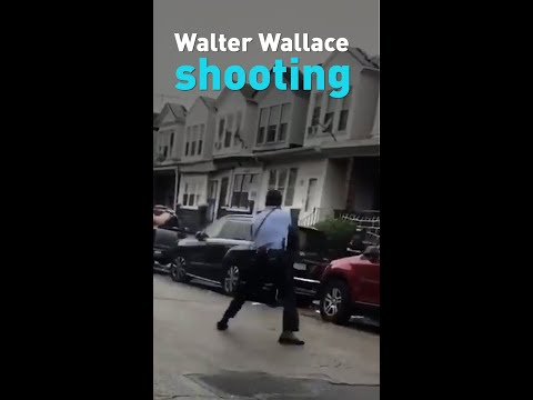 Walter Wallace shooting video