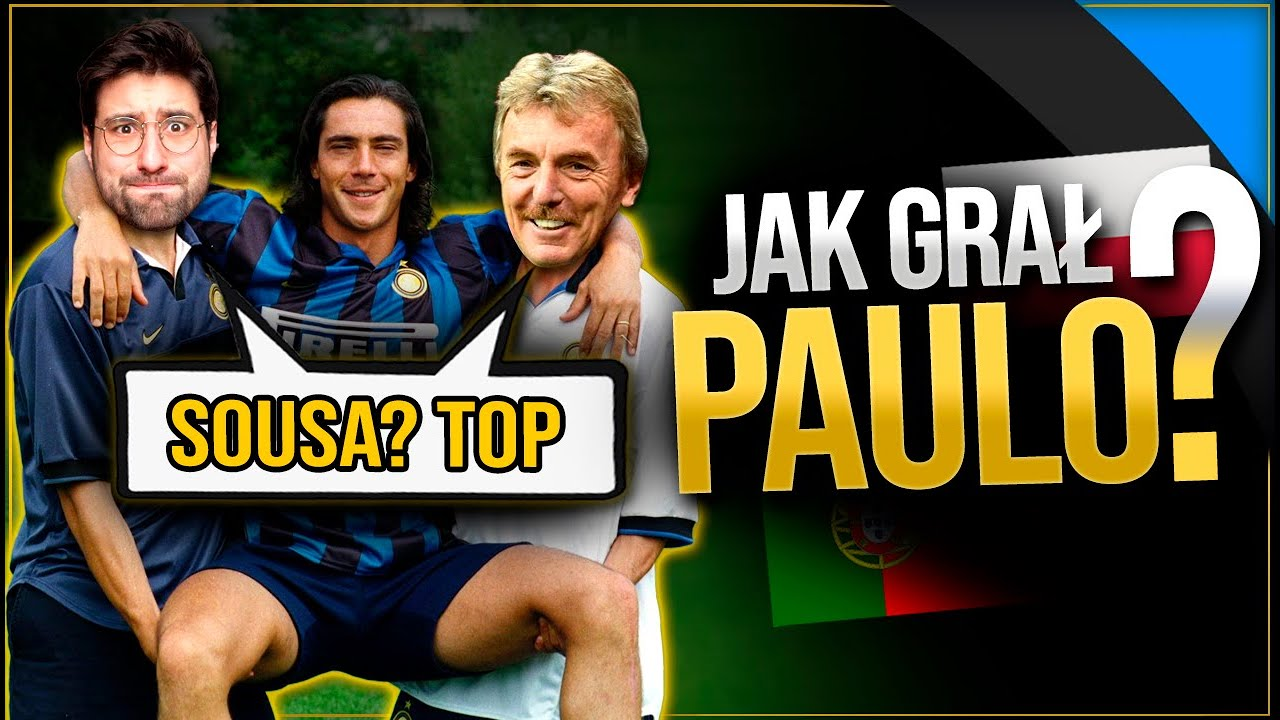 Czy Paulo Sousa był dobrym piłkarzem?
